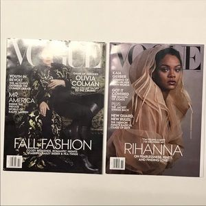 Vogue 2019 Magazine Lot of 2